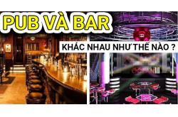 Pub là gì? Pub và Bar khác nhau như thế nào?