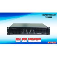 Cục đẩy công suất SoundStandard TX650Q (4 kênh)