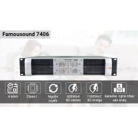 Cục đẩy Famousound 7406 -  4 kênh