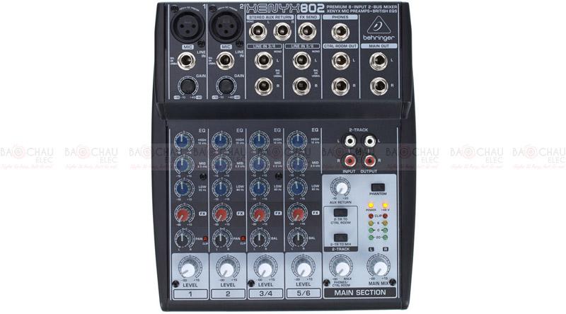 Bàn mixer Behringer Xenyx 802