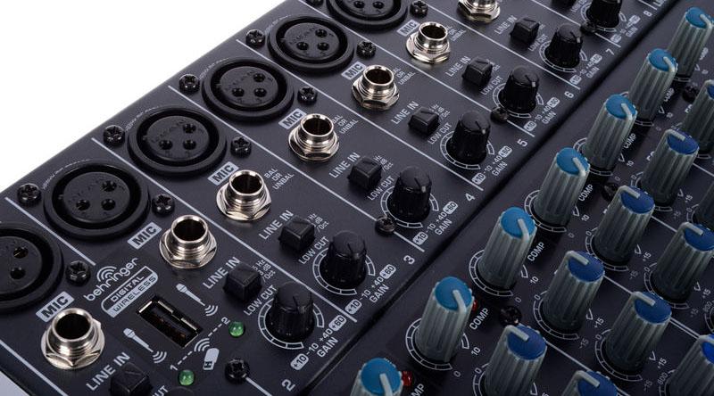 Bàn mixer Behringer Xenyx QX2222USB