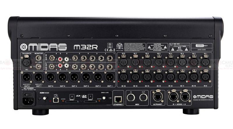 Bàn mixer Midas M32R Live Bundle