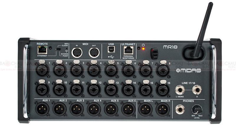 Bàn mixer Midas MR 18 Bundle