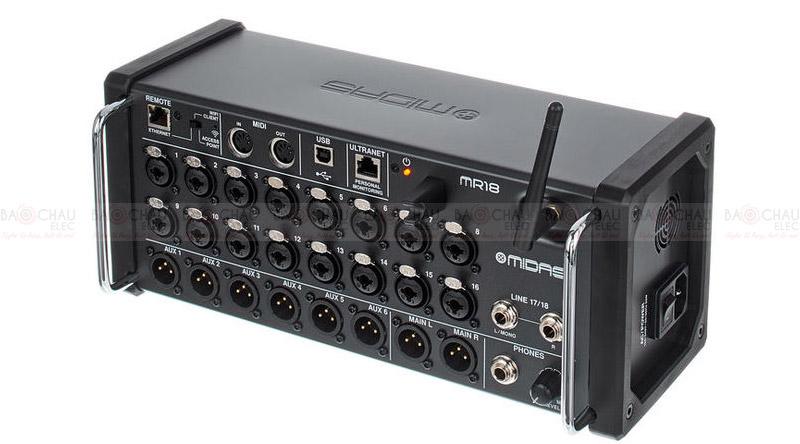 Bàn mixeBàn mixer Midas MR 18 Flyht Case Bundler Midas MR 18 Flyht Case Bundle