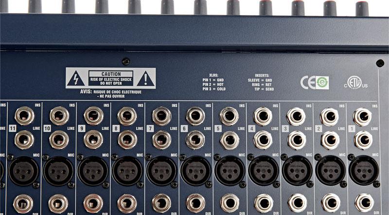 Bàn mixer Soundcraft LX-7 II 24