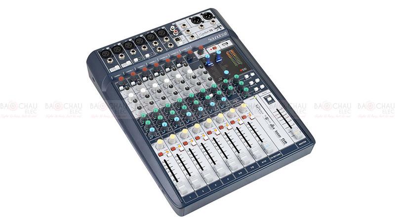 Bàn mixer Soundcraft Signature 10