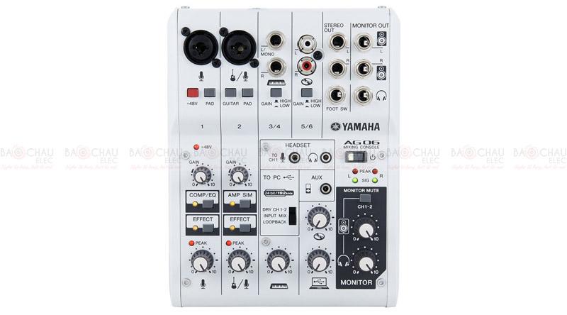 Bàn mixer Yamaha AG06