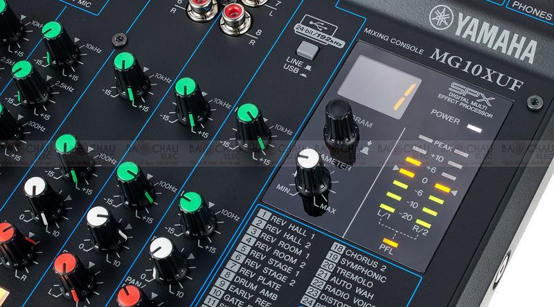 Bàn mixer Yamaha MG10XUF