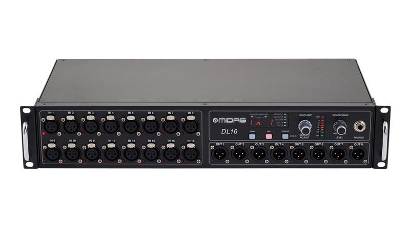 Bộ trộn âm thanh Midas DL16