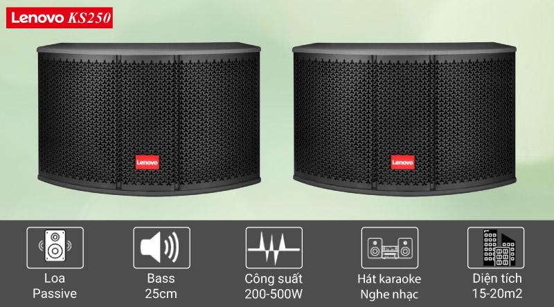 Loa karaoke Lenovo KS250 chính hãng, giá tốt