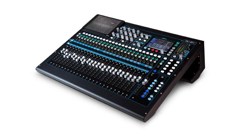 Mixer Allen & Heath Qu-24 Chrome