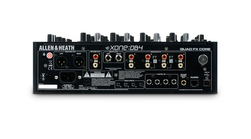 Mixer Allen & Heath Xone DB4
