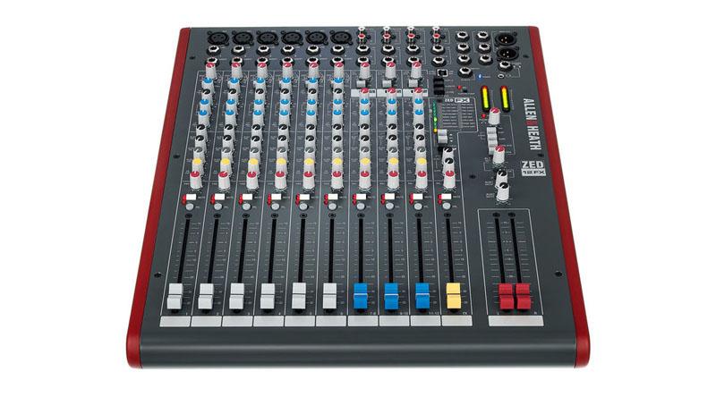 Mixer Allen & Heath ZED-12FX