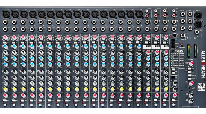 Mixer Allen & Heath ZED-22FX