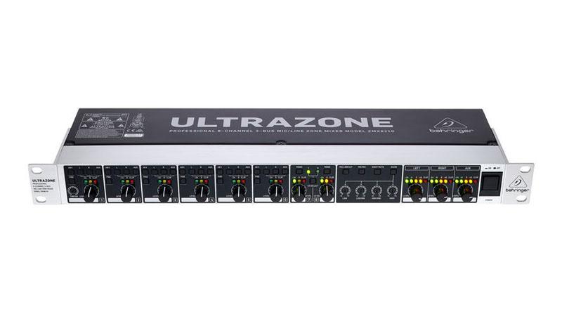 Mixer Behringer ZMX8210 V2 Ultrazone