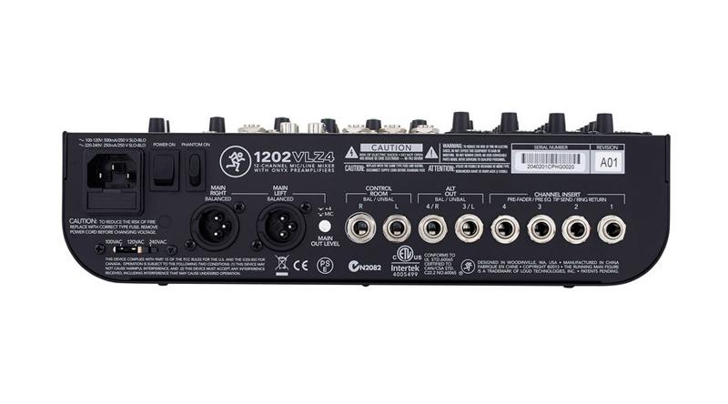 Mixer Mackie 1202 VLZ4