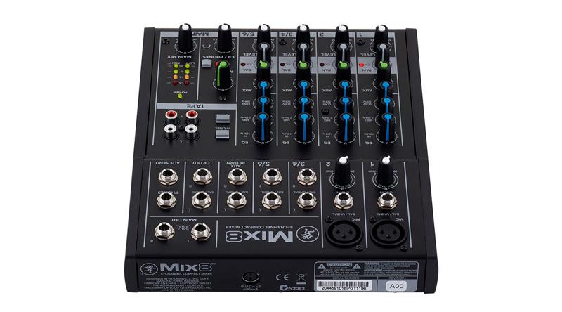 Mixer Mackie Mix8