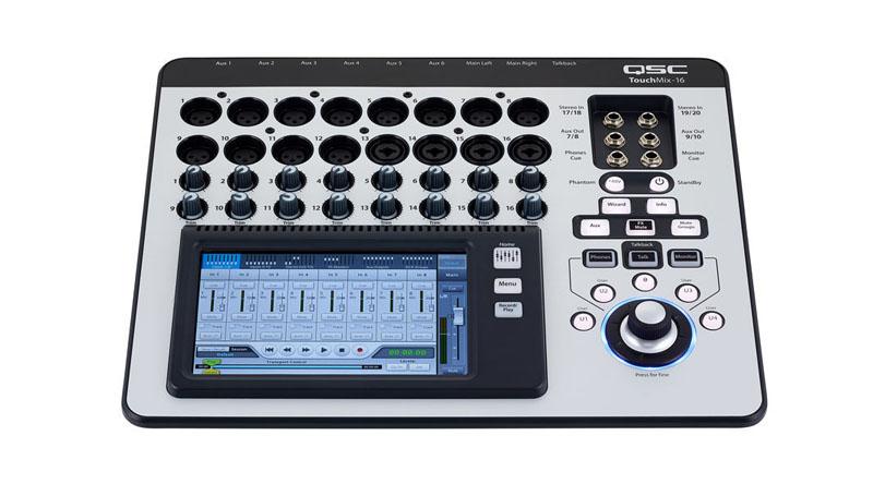 Mixer QSC TouchMix-16 Bundle