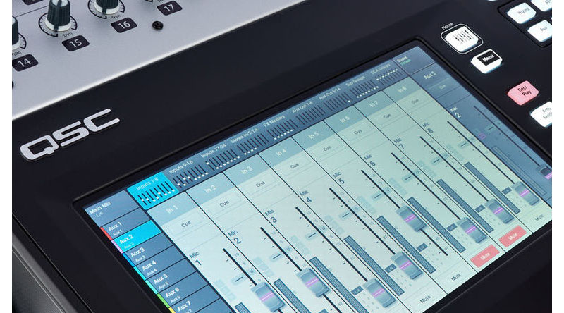 Mixer QSC TouchMix-30 Pro