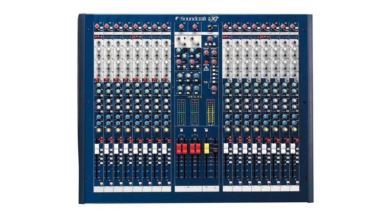 Mixer Soundcraft LX-7 II 16
