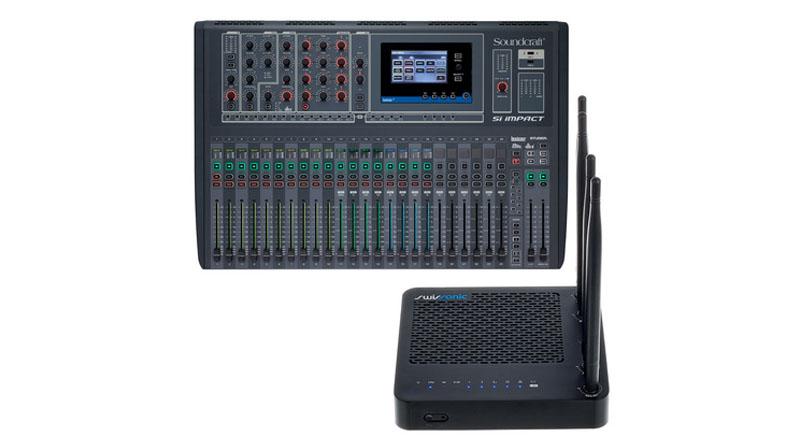 Mixer Soundcraft Si Impact Router Bundle