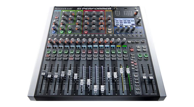 Mixer Soundcraft Si Performer 1 Bundle