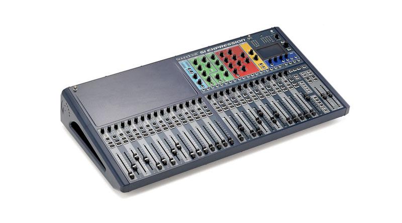 Mixer Soundcraft SiEx3