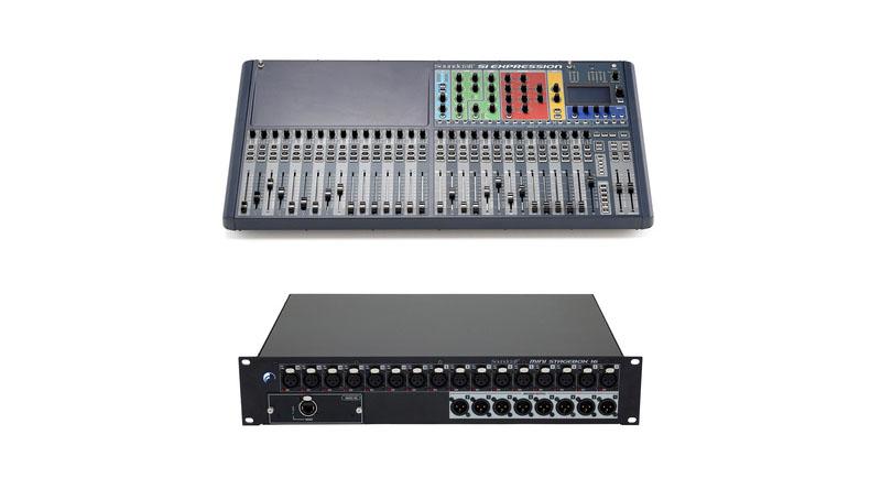 Mixer Soundcraft  SiEx3 Bundle