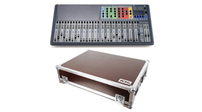 Mixer Soundcraft SiEx3 Mixer Case Bundle