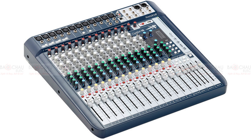 Mixer Soundcraft Signature 16