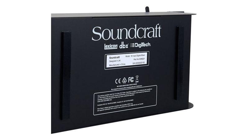 Mixer Soundcraft Ui16