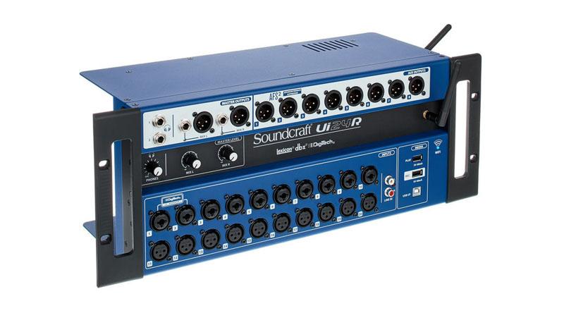 Mixer Soundcraft Ui24R