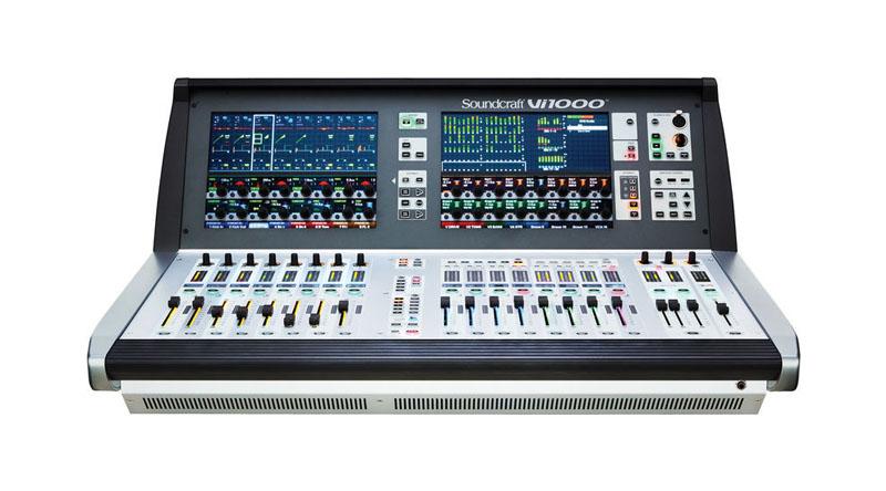 Mixer Soundcraft Vi 1000
