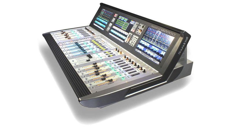 Mixer Soundcraft Vi 2000