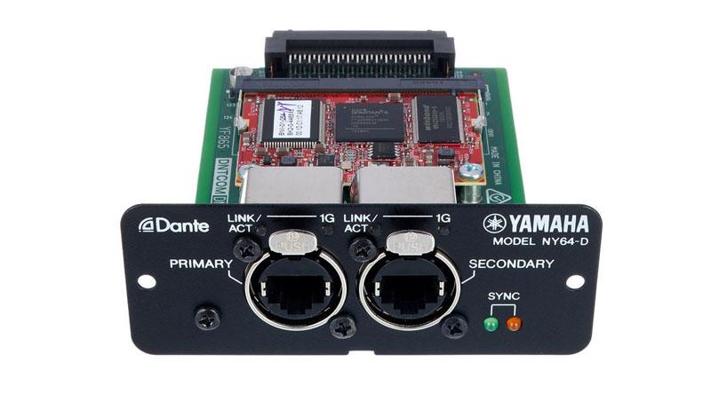 Mixer Yamaha NY64-D Dante