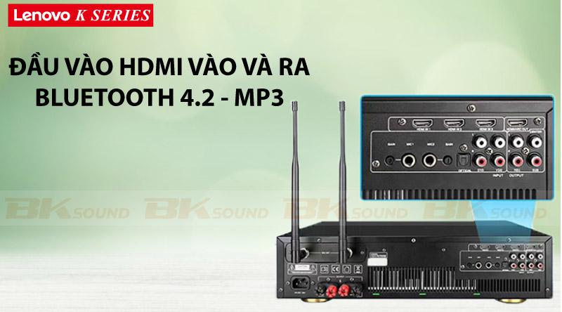 Mặt sau Power Amplifier Lenovo K250