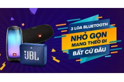 3 Loa Bluetooth nhỏ gọn giúp bạn mang theo đi bất cứ đâu