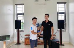 Bộ dàn loa RCF cao cấp cho gia đình anh Xuân ở Thái Bình (Emax 3112, Alto TS312S, Famous 7208, K9800, Plus 4TB, VM300)