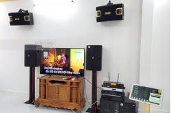 Dàn karaoke cao cấp cho gia đình anh Cần ở Cái Răng, Cần Thơ (BIK 412, BMB 900SE, BJ-W66 Plus, SAE CT3000, VM640A, BPR-8500, UGX12 Gold, Plus 4TB, 22 inch)