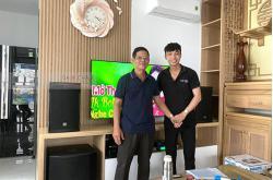 Dàn karaoke gia đình anh Hoàng ở Bình Thạnh (Emax 3110, Sumico S500, BIK VM420A, DP9200+, Hanet 4TB, BCE UGX12)