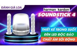 Đánh giá Loa Harman Kardon SoundStick 4: Thiết kế trong suốt, đèn LED độc đáo, chất âm sôi động
