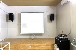 Lắp bộ dàn karaoke cafe cho anh Hải ở Thanh Oai, HN (Emax 3112, Alto SX18+, SAE TX800Q, JBL KX180, UGX12 Gold, Plus 4TB)