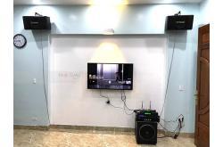 Lắp bộ dàn loa BIK cho gia đình anh Long ở Kiến An, Hải Phòng (BIK BJ-S886II, Paramax 1000, FX-9MK, SAE TX800Q, U900 Plus X)