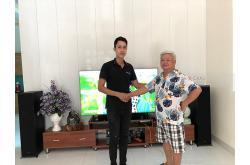 Lắp bộ dàn nghe nhạc cho gia đình chú Hưng ở Mê Linh, Hà Nội (Klipsch R-820F, R-N803 Black, Paramax LS3000)
