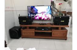 Lắp đặt dàn karaoke cho gia đình Vinh tại Bình Dương (BMB CSE 312SE, BKSound DP8000, Paramax sub 2000)