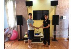 Nâng cấp dàn karaoke cho Cty TNHH Thời trang Thảo Nguyên (RCF CMAX 4112, Crown Xli2500, BIK BPR-5500,...)