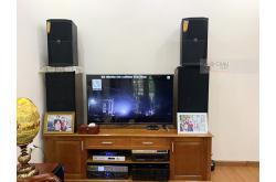 Dàn karaoke anh Chính tại Hoàng Mai – HN (JBL XS10, Crown Xli2500, K9800, SW612-C, VietKTV HD4TB, VM300)