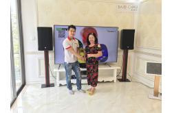 Lắp đặt dàn karaoke cho gia đình chị Quyên tại TP HCM (RCF EMAX 4112,IPS 3700,AAP K9800,Viet KTV HD, JBL VM300)