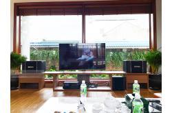 Dàn karaoke gia đình anh Hùng tại Đồng Nai (BIK BJ-S968, BIK VM620A, BPR-8500, NS-SW300, BJ-U550)