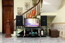 Dàn karaoke gia đình anh Quý tại Hà Nội (BIK BSP412, SAE TX800Q, KX6, BW604, BCE UGX12)